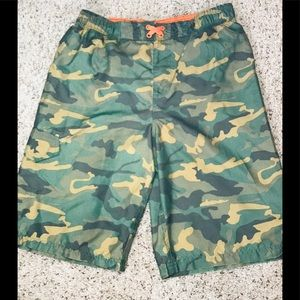 Op Swim Trunks Suit Camouflage Boys Size 14-16 XL